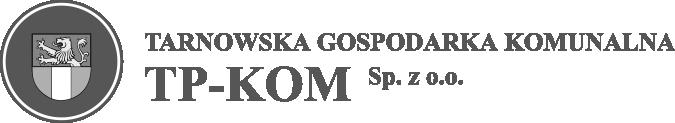 Tarnowska Gospodarka Komunalna TP-KOM Sp. z o.o. znak mono